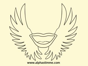 Flügelmund Rechteckt